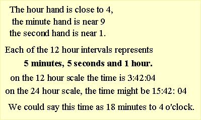 minutes to seconds
